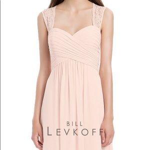 BILL LEVKOFF BRIDESMAID PROM DRESS 1173 petal pink